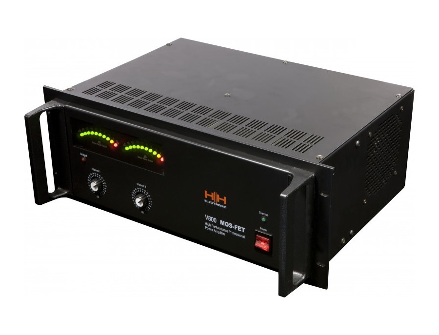 H h v800 power amplifier xl