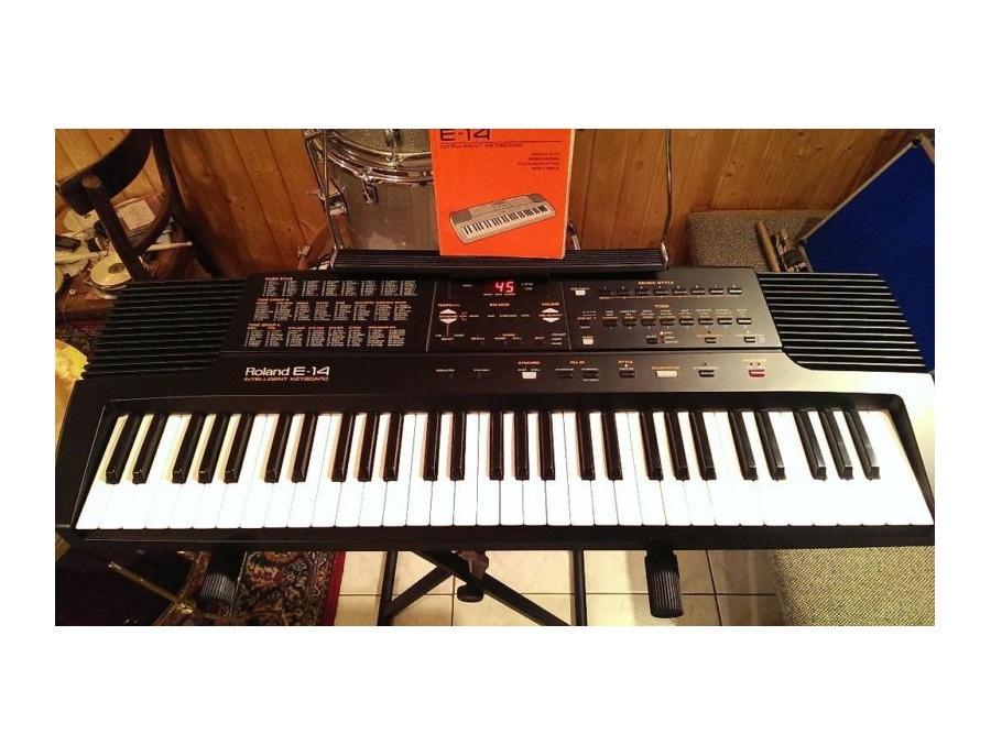 Roland E-14 Intelligent Keyboard