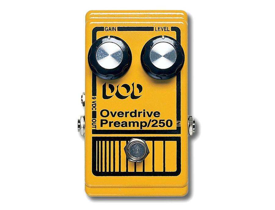 Dod overdrive preamp 250 guitar pedal xl