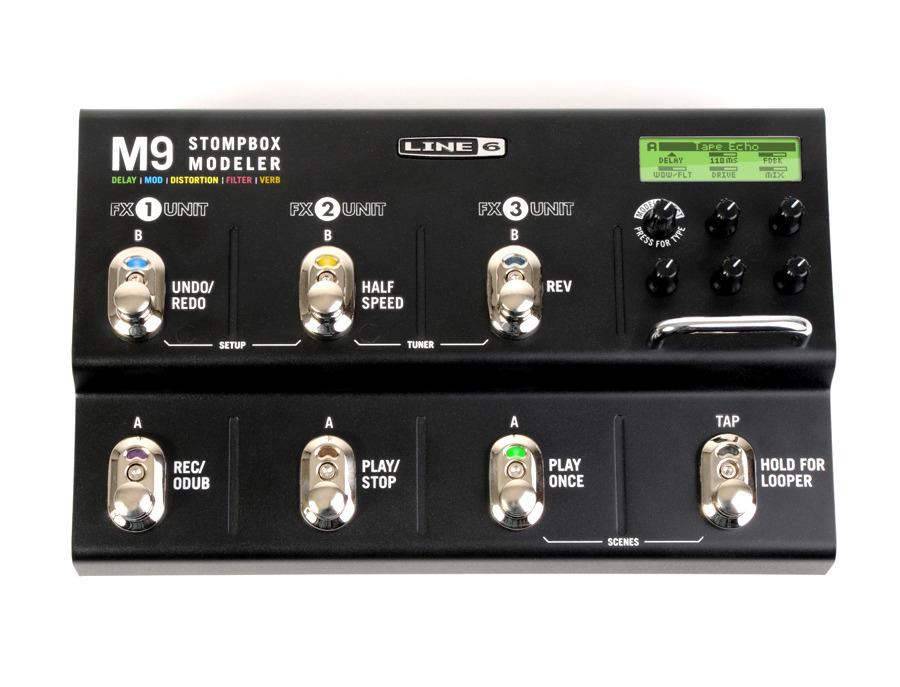 Line 6 m9 stompbox modeler xl