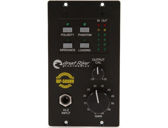 Great River MP-500NV 500 Series Mic Preamplifier