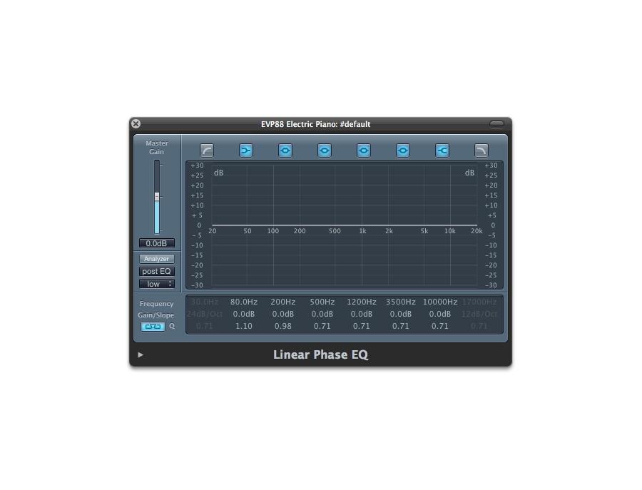 Apple Logic Linear Phase EQ