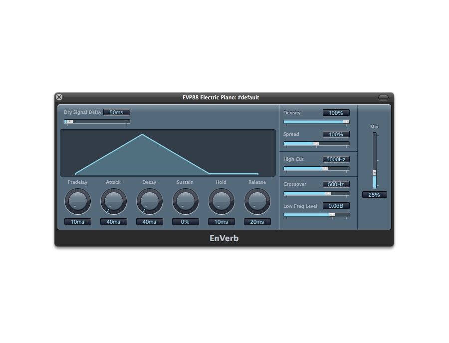 Apple Logic EnVerb Reverb