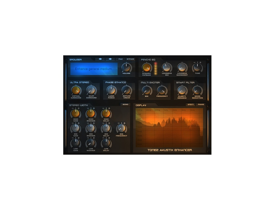 Tone2 akustix enhancer xl