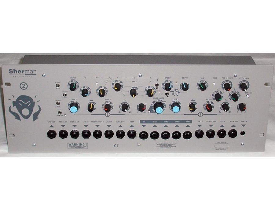 Sherman filterbank 2 rack xl