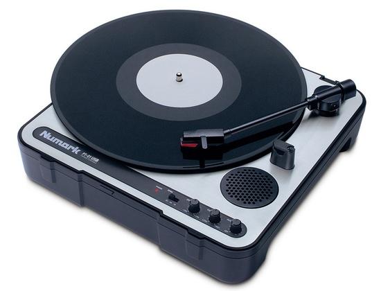 Numark PT-01 Portable Record Player
