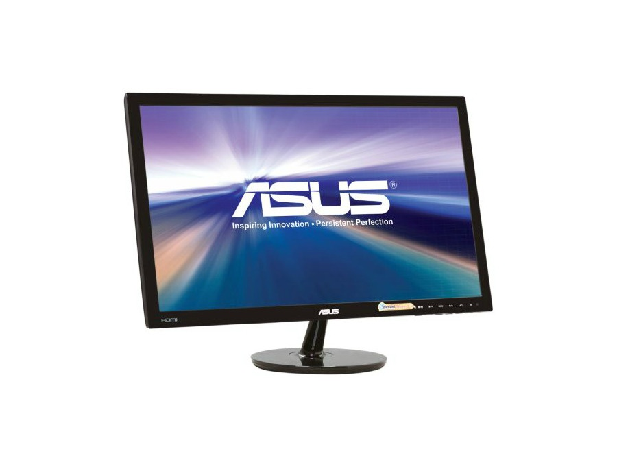 "ASUS VS248H-P Black 24"" 2ms HDMI LED Backlight Widescreen LCD Monitor 250 cd/m2 ASCR 50,000,000:1"