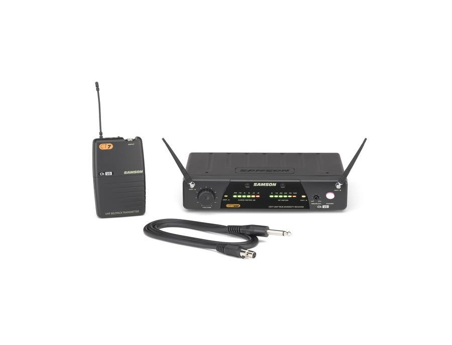 Samson Concert 77 Guitar - True Diversity UHF Wireless System