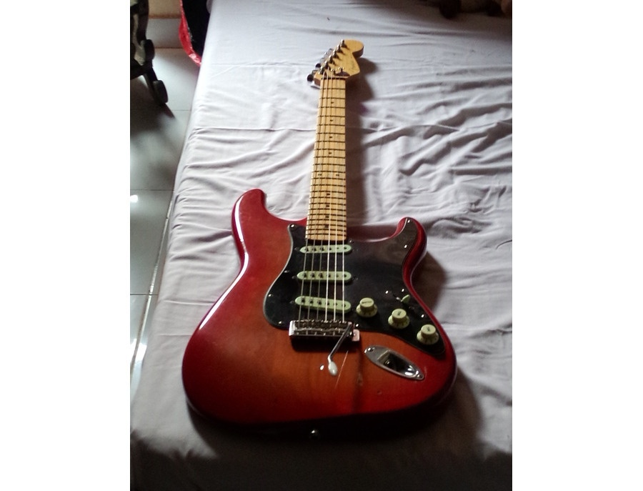 Fender vintage reissue 57 stratocaster, Sunset
