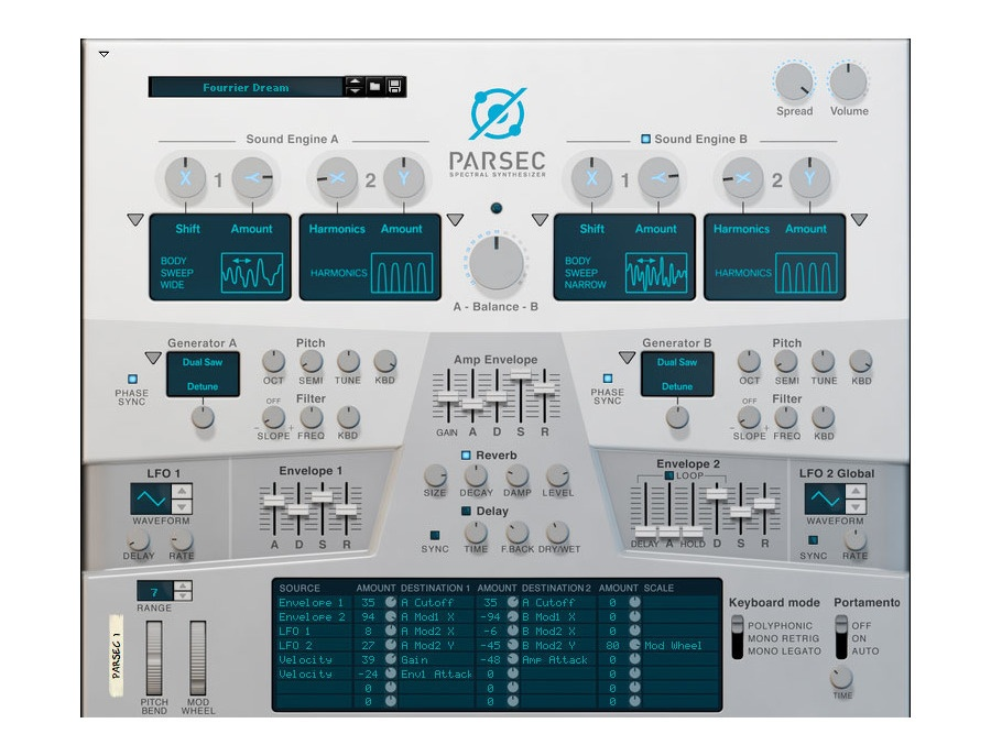 Propellerhead Parsec Spectral Synthesizer