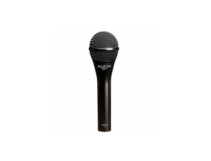 Audix om7 dynamic vocal microphone xl