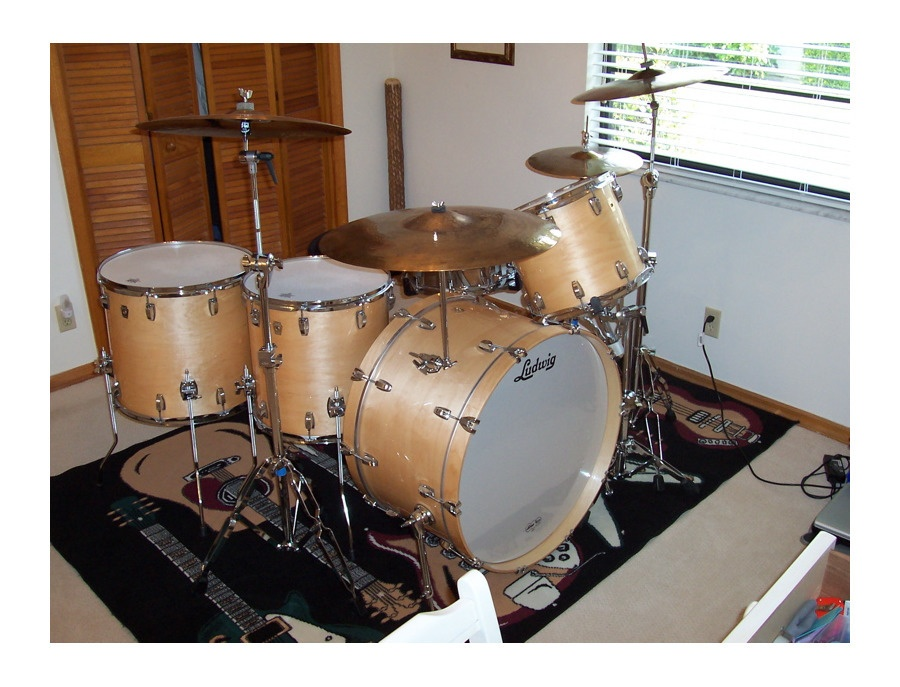 Ludwig Thermo Gloss Natural Maple