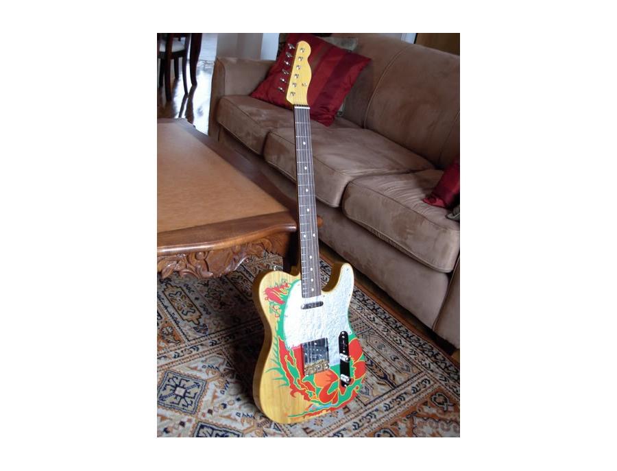 """1959 Fender Telecaster """"Dragon Telecaster"""" Replica"""
