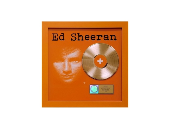 RIAA Gold Sales Award - Ed Sheeran - +