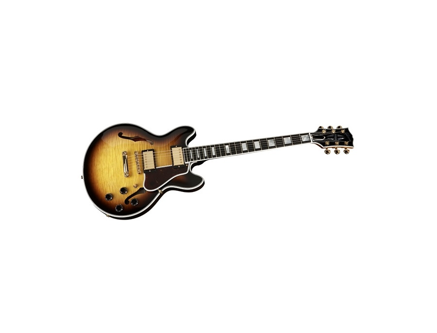 Gibson es 339 flamed maple top xl