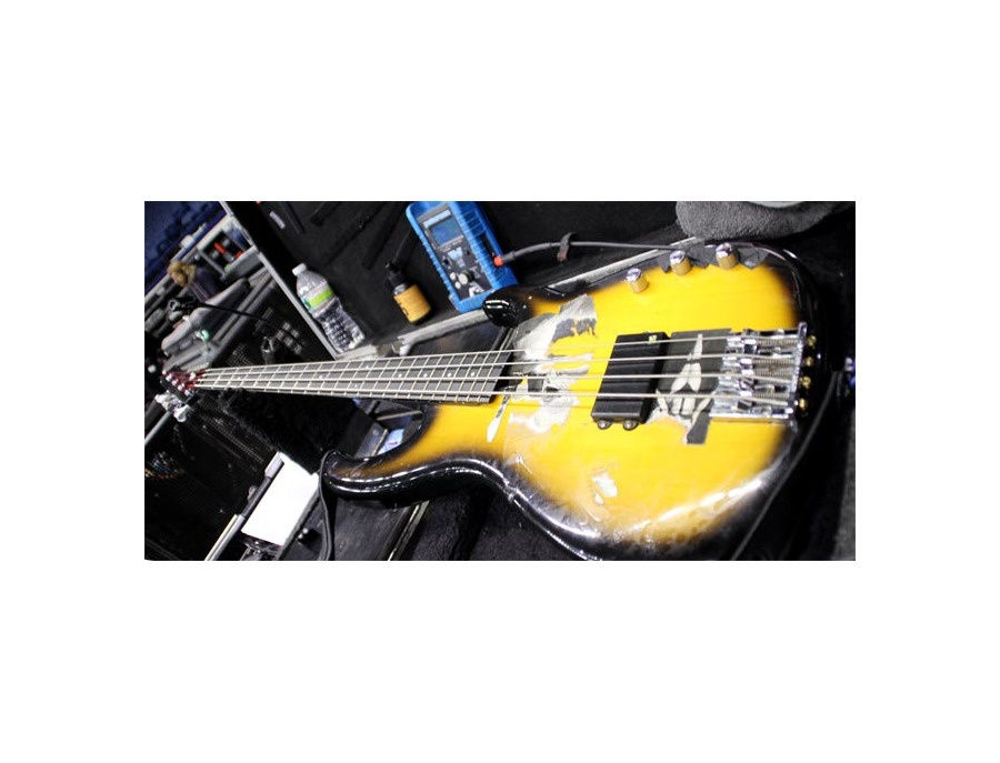 Modulus flea bass 2 tone sunburst xl