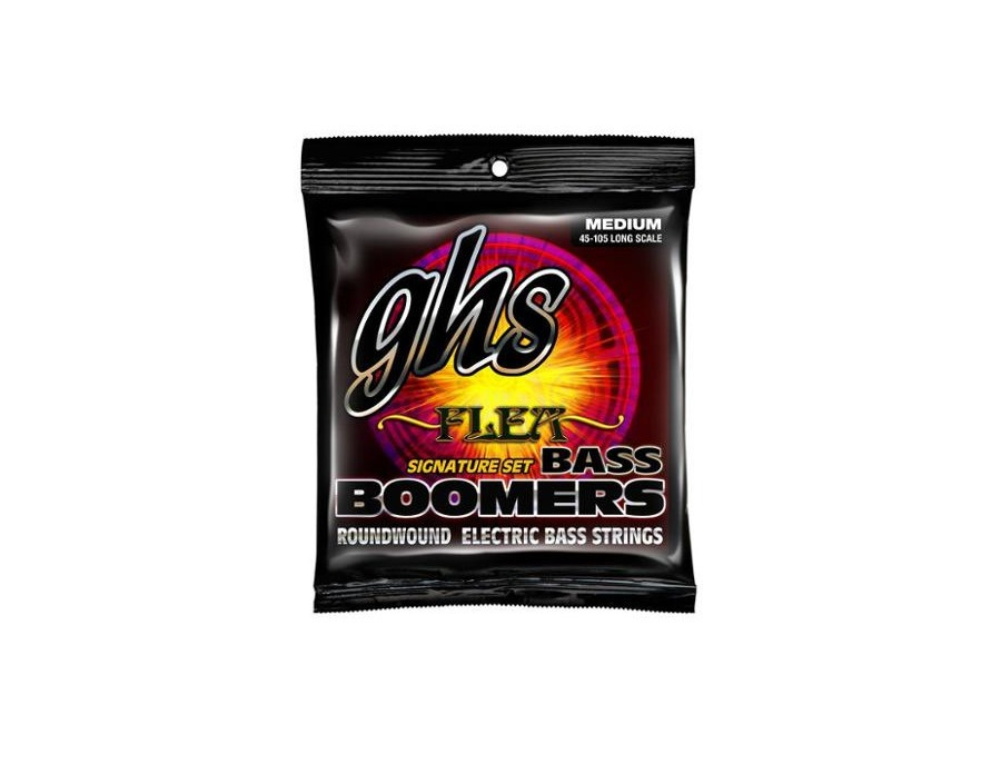 Ghs m3045f flea signature bass boomers strings xl