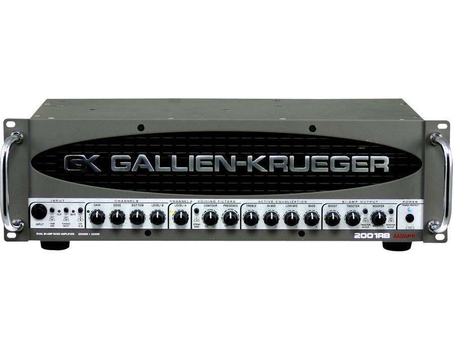 Gallien krueger 2001rb amplifier head xl