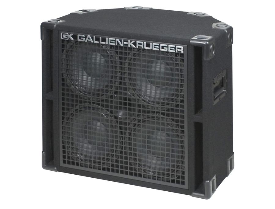 Gallien krueger 410rbh 800w 4x10 bass cab with horn xl