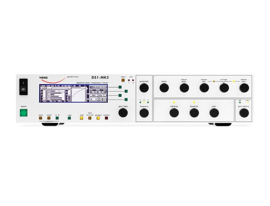 Weiss DS1-Mk3 Compressor Limiter De-Esser