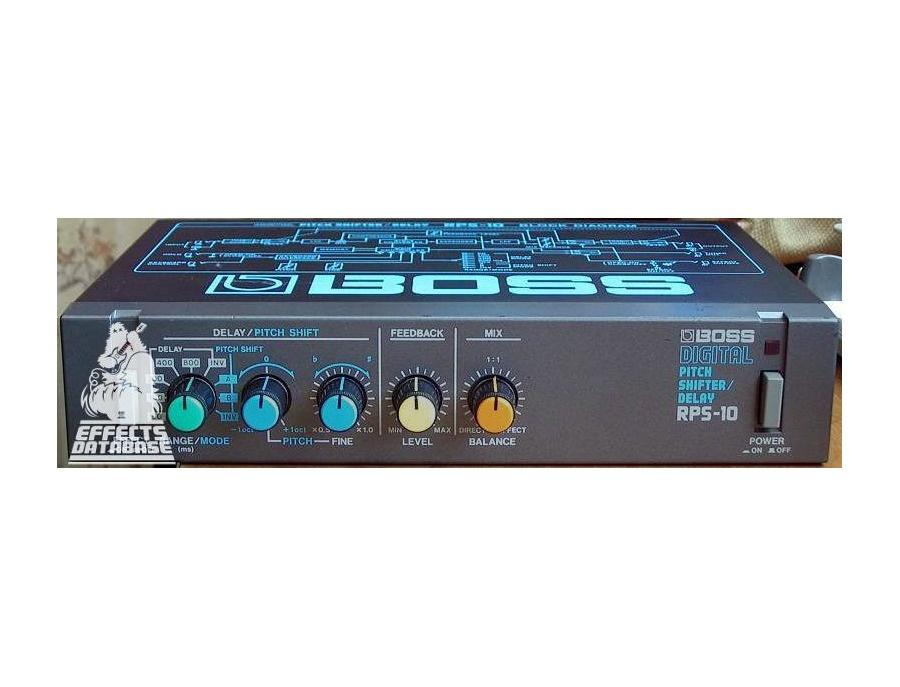 Boss RPS-10 Digital Pitch Shifter
