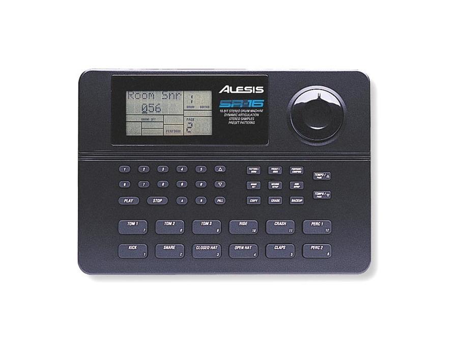 Alesis sr 16 drum machine xl