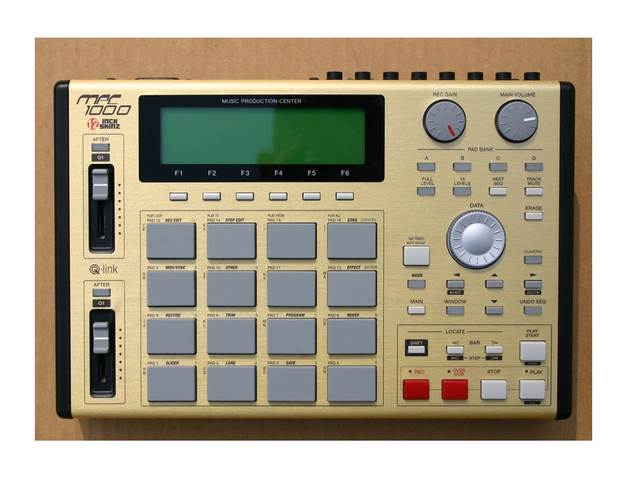 Akai MPC1000 UPGRADED