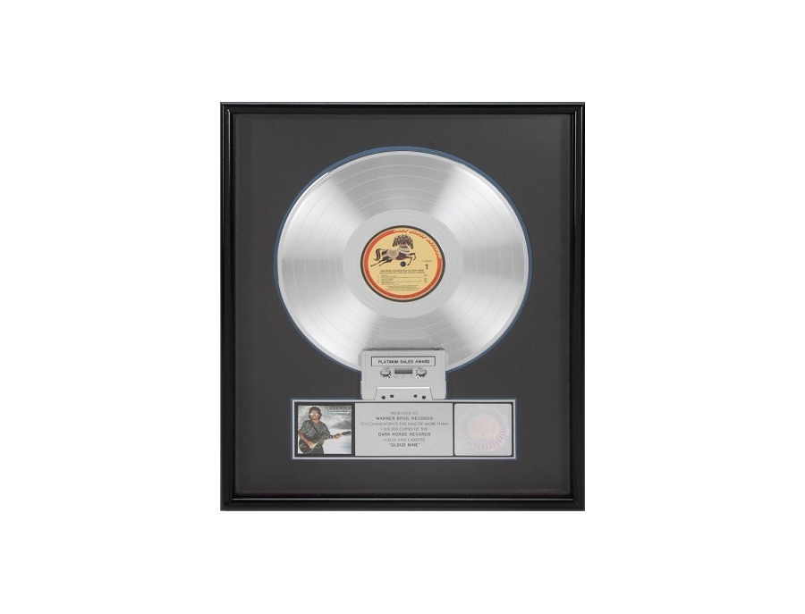 RIAA Platinum Sales Award - George Harrison - Cloud Nine