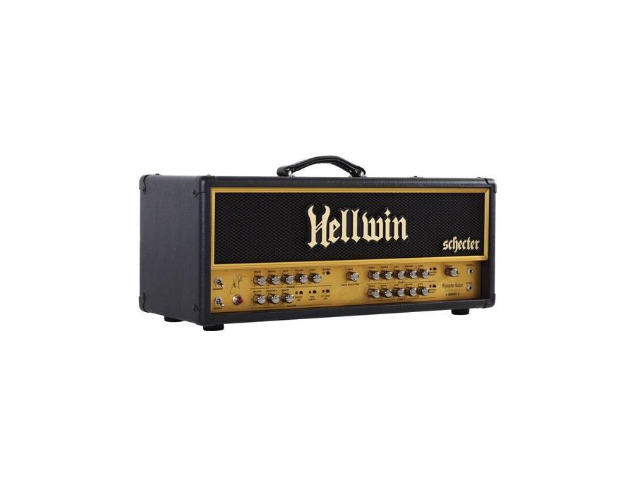Schecter syn100 hellwin stage 100 guitar amplifier head xl