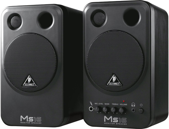 Behringer MS16 Monitor Speakers