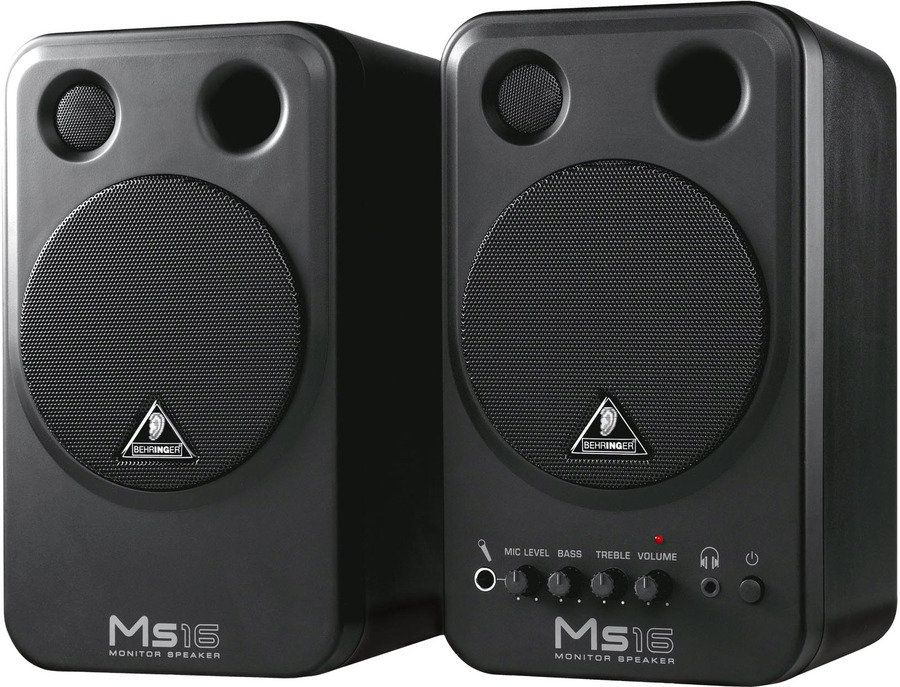 Behringer MS16 Monitor Speakers