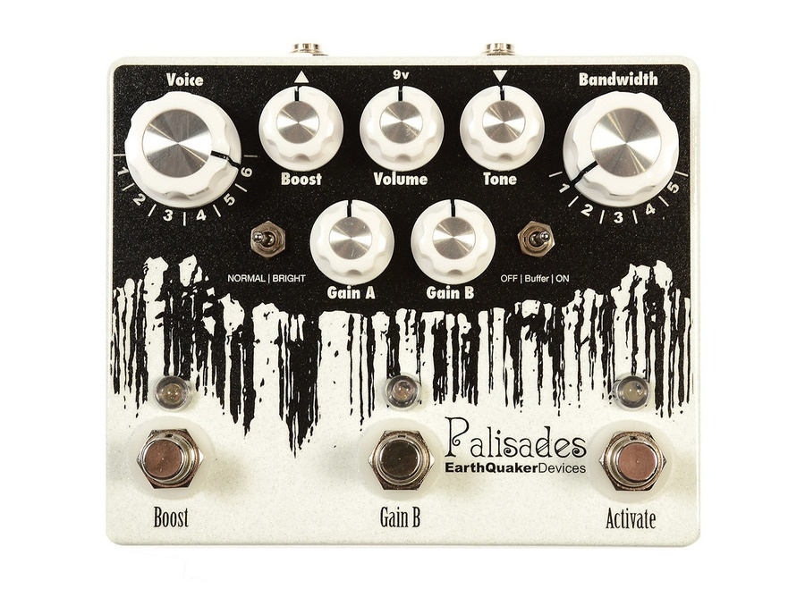 Earthquaker devices palisades overdrive xl