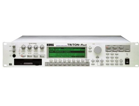 Korg Triton Rack Synthesizer