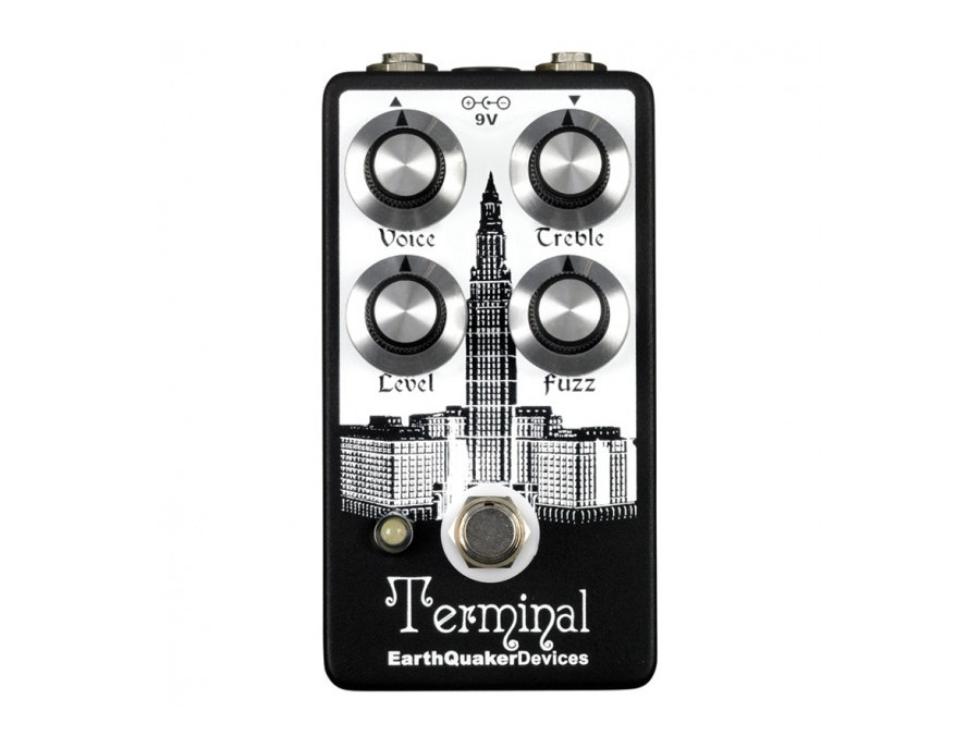 Earthquaker devices terminal fuzz xl