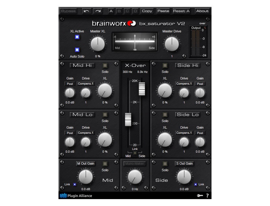 Brainworx bx_saturator v2 Plugin