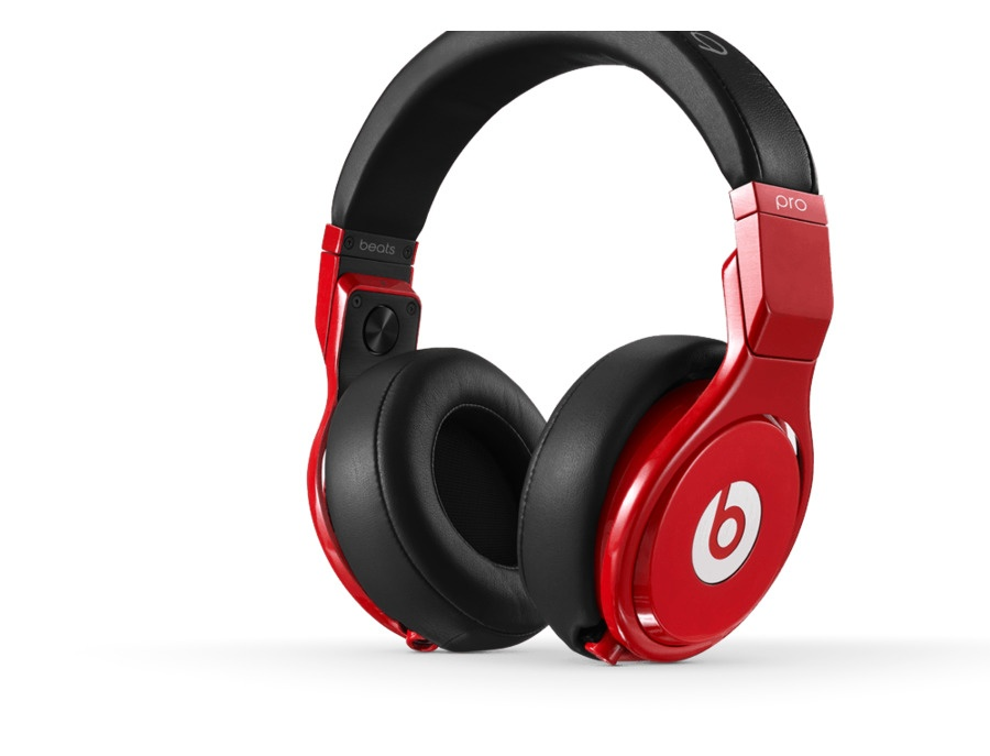 beats By Dr. Dre Pro Headphones Red