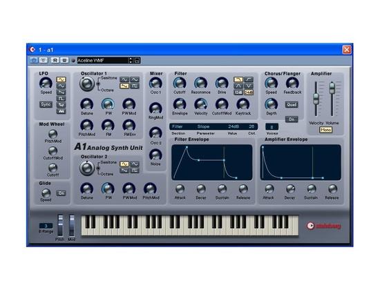 Cubase A1 Analog Synth Unit
