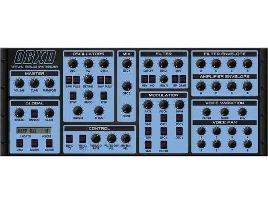 OBXD Virtual Analog Synthesizer