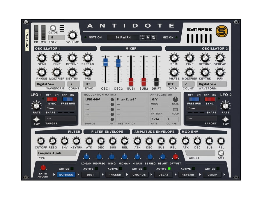 Antidote RE - Synapse Audio Software