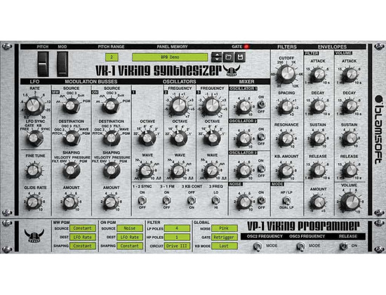 Blamsoft VK-1 Viking Synthesizer