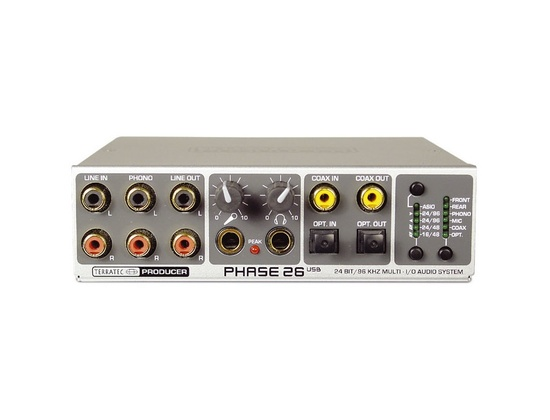 Terratec Phase 26 USB soundcard