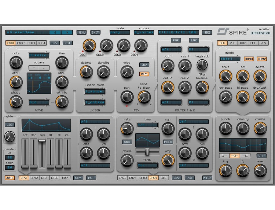 Reveal Sound Spire Synthesizer Plugin (VST, AU) | Equipboard®