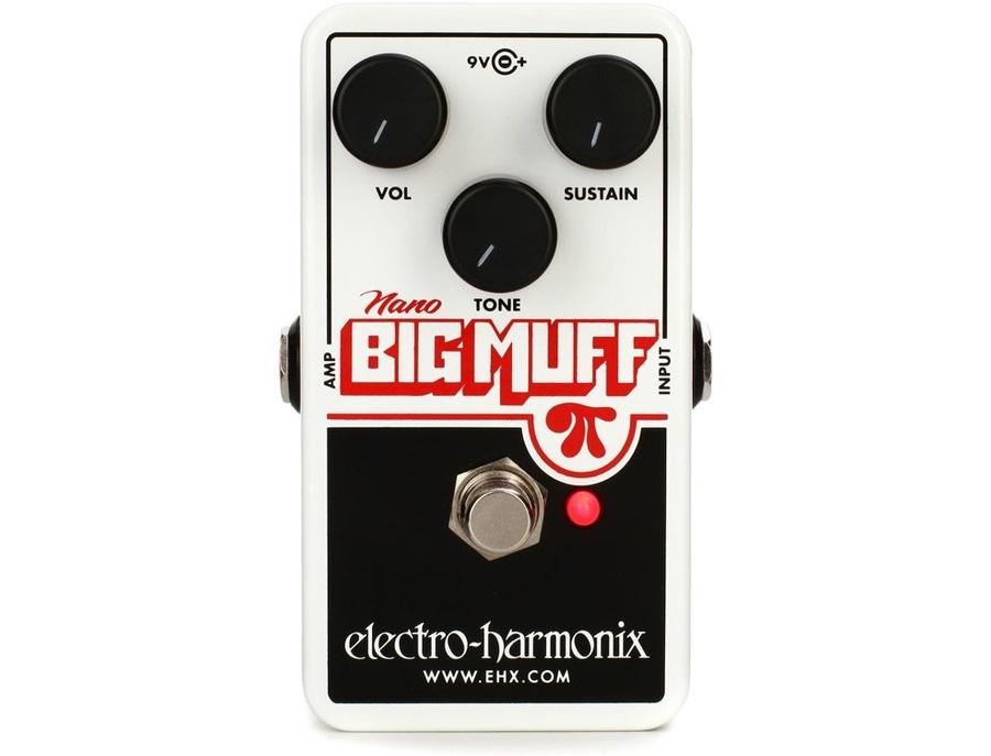 Electro harmonix nano big muff pi xl