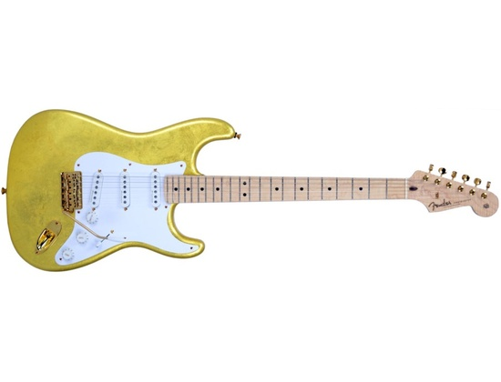 Fender Eric Clapton Gold Leaf Masterbuilt Repro Stratocaster