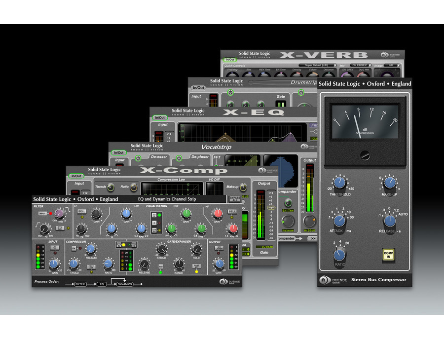 SSL Duende Native Plugin Suite