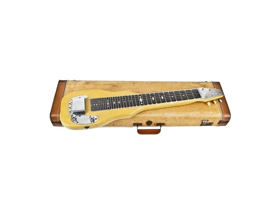 1950 Fender Lap Steel Toilet Seat Green
