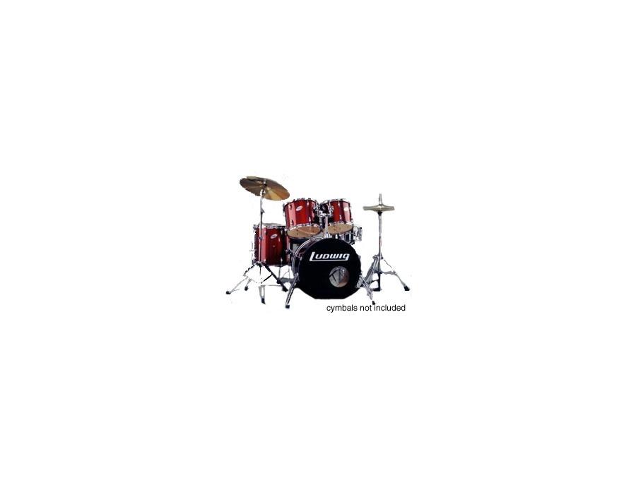 Ludwig accent 5 piece drum set xl