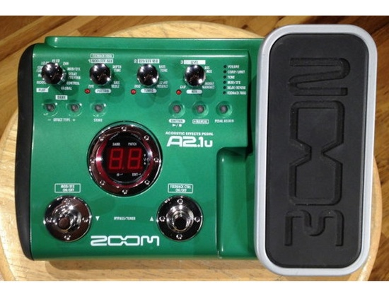 Zoom a2.1u Multi Acoustic Guitar FX Pedal