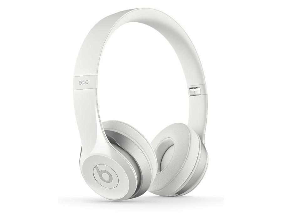 Beats by Dre Solo2 On-Ear Headphones (White)