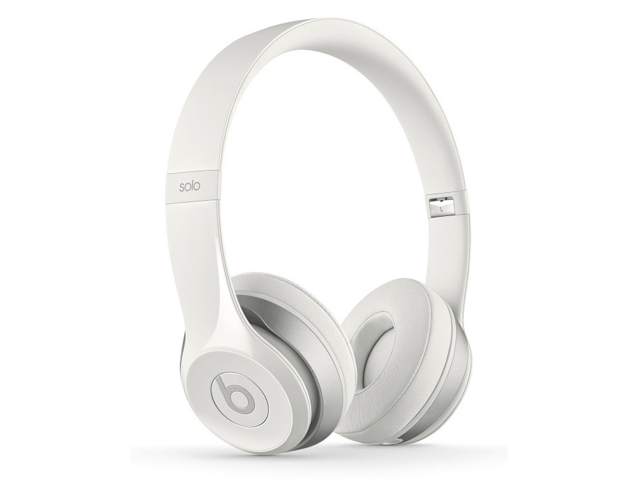 Beats by Dre Solo2 On-Ear Headphones (White)